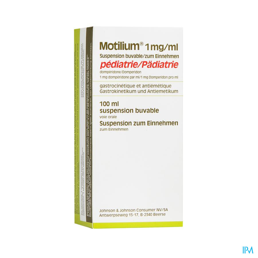 Motilium Pediatrie Susp Fl 100ml