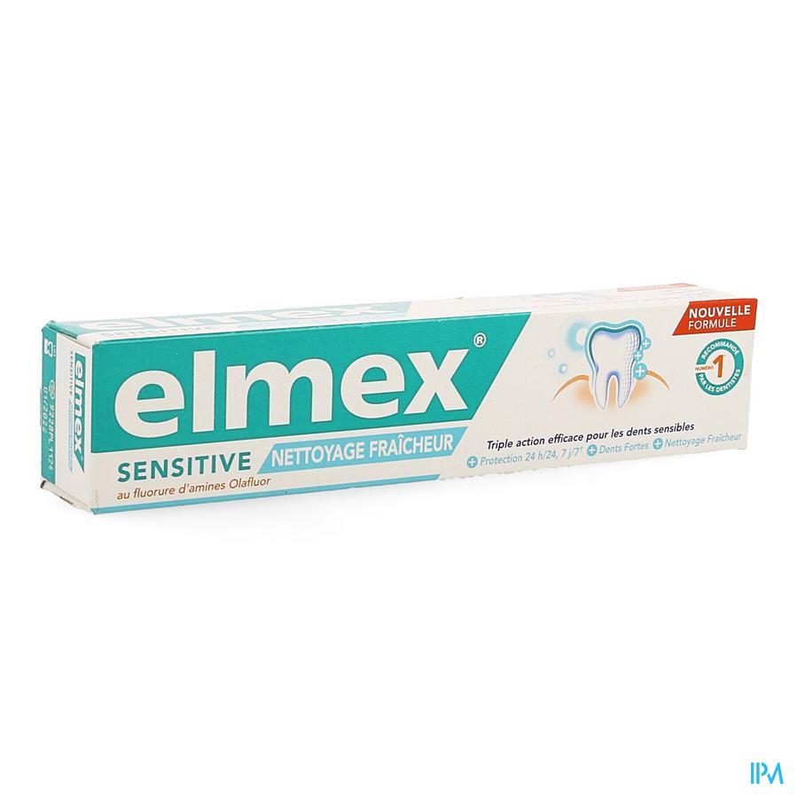 Elmex Tandpasta Sensitive Clean&fresh 75ml