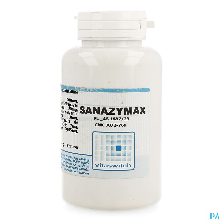 Sanazymax 800mg Caps 90