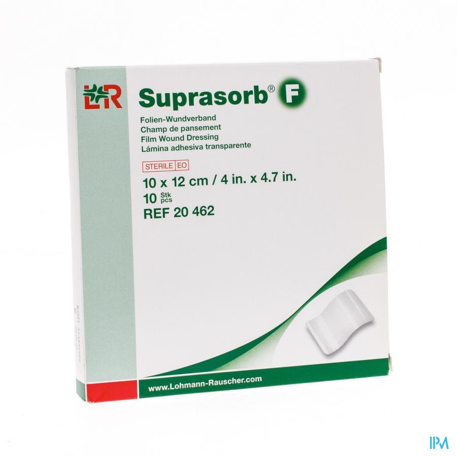 Suprasorb F Film Kp Steriel 10x12cm 10 20462