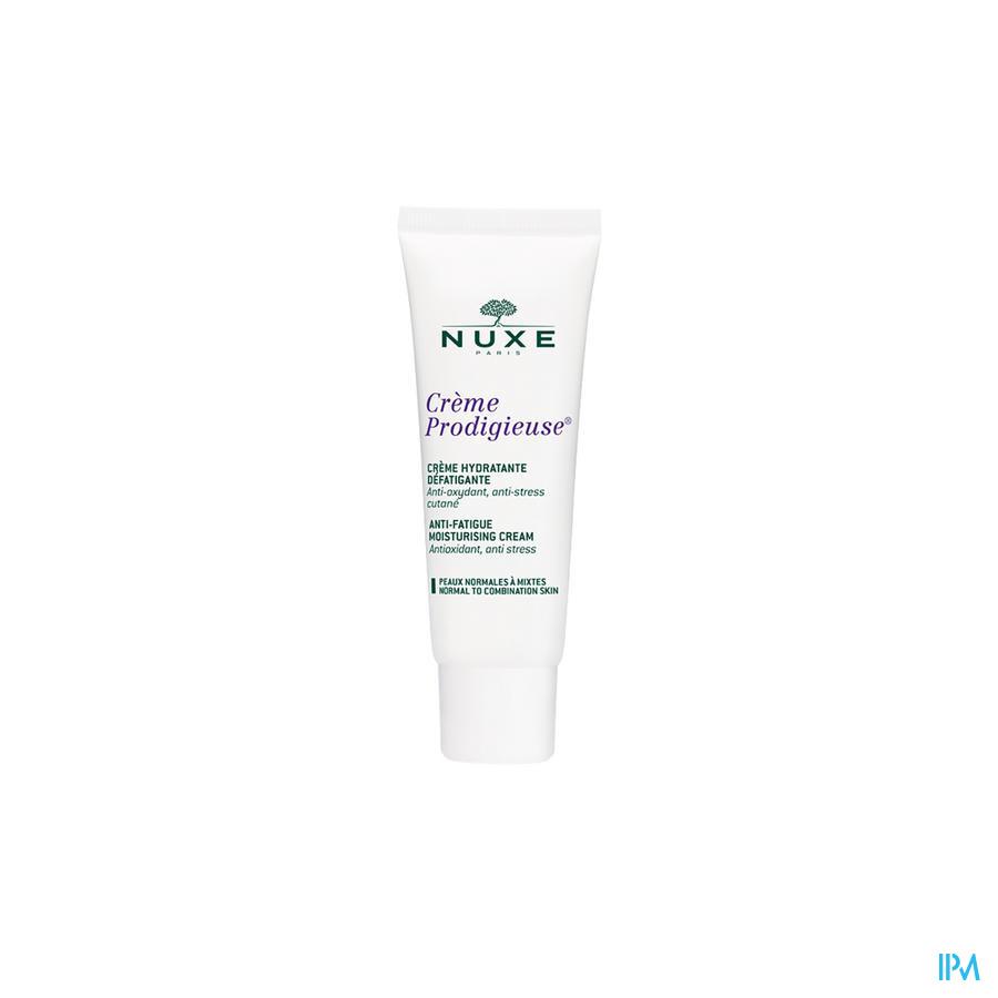Afbeelding Nuxe Crème Prodigieuse Enrichie Verkwikkende en Hydraterende Rijke Crème voor Droge Huid Tube 40 ml.