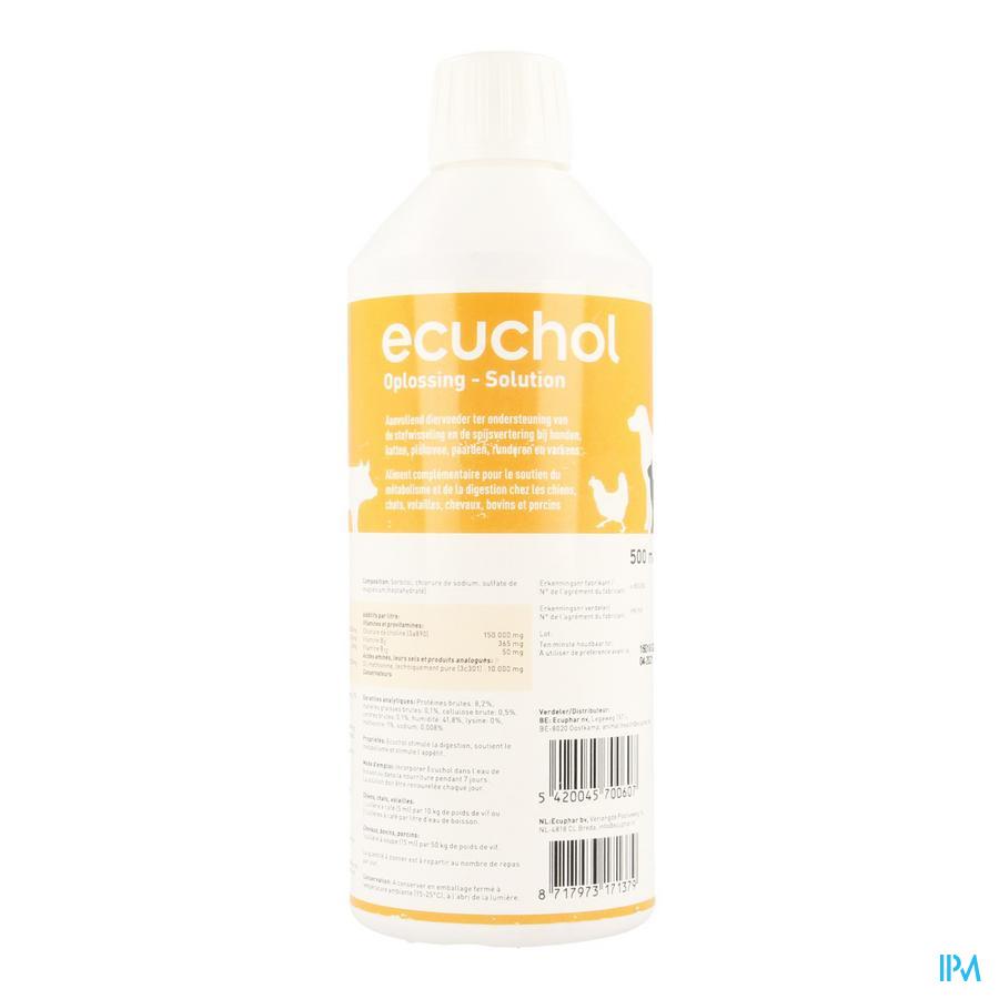 Ecuchol Solution Oral 500ml