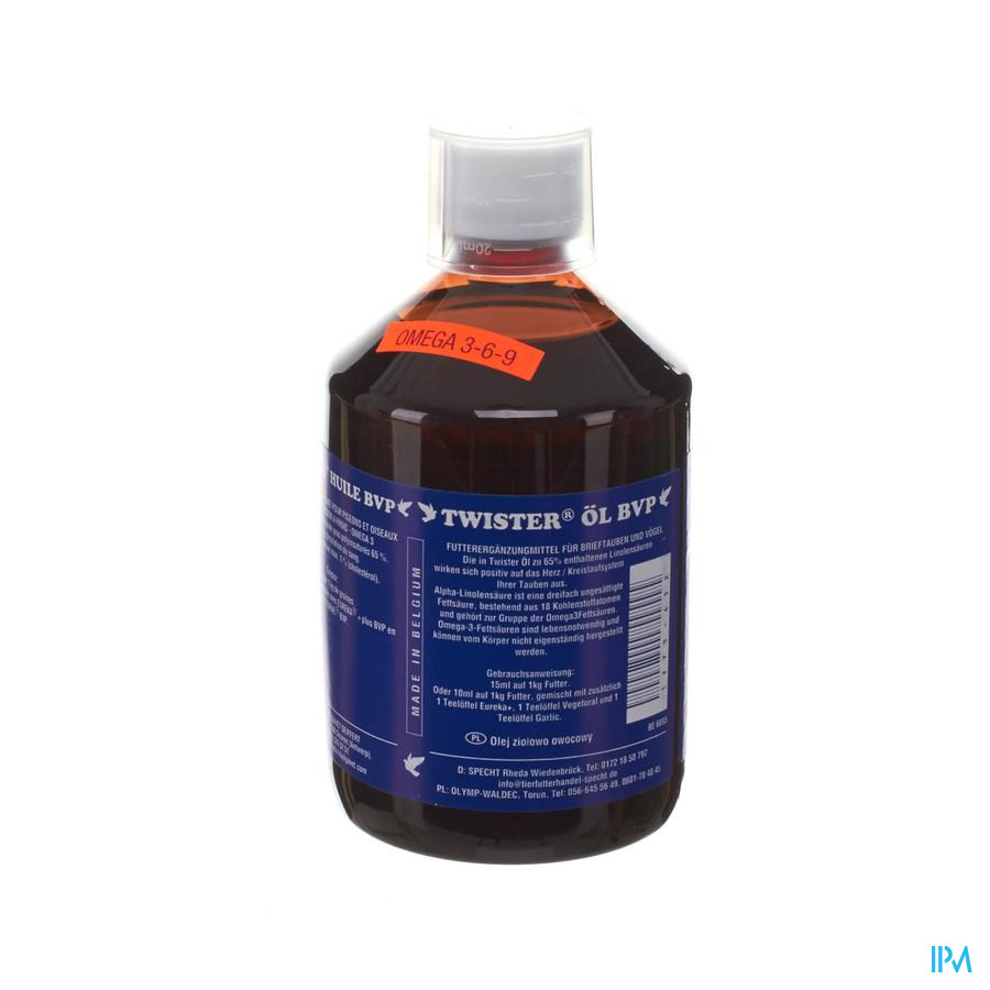 Twister-olie Duiven 500ml