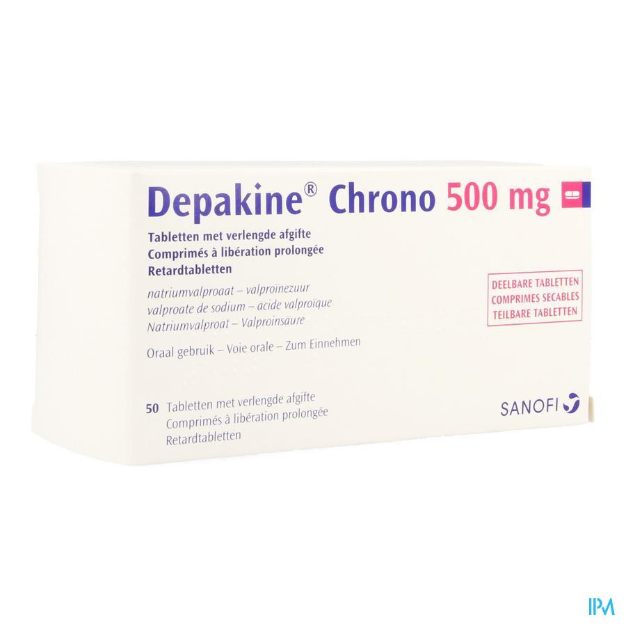 Depakine Chrono 500 Blister 5 X 10