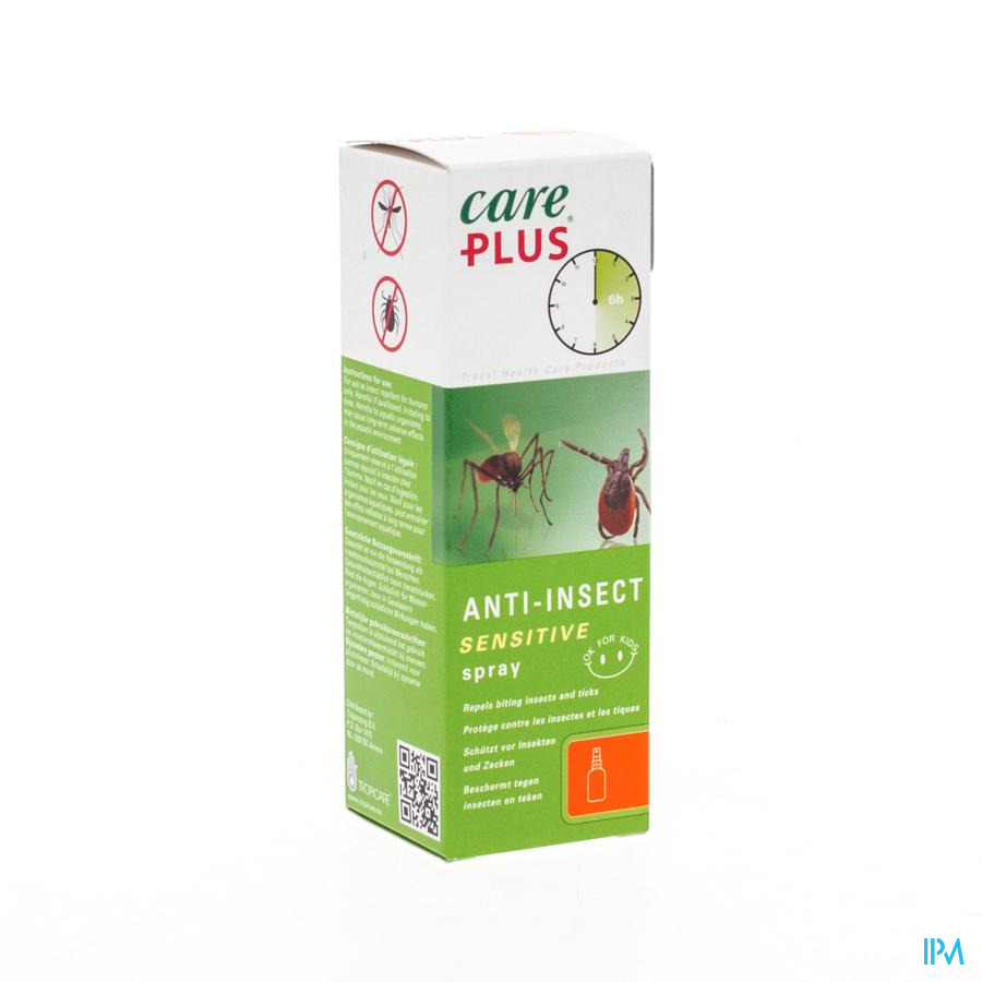 Care Plus For Kids Spray 60ml (zonder Deet)