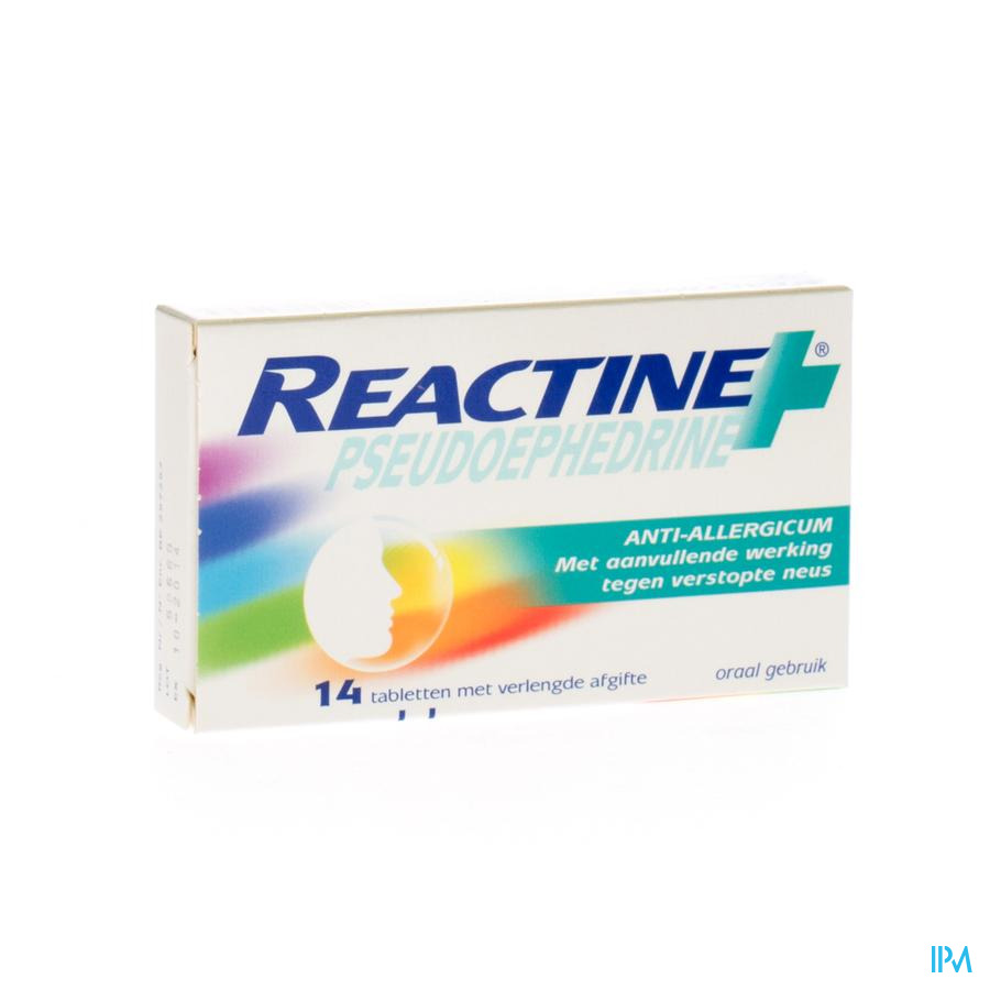 Reactine Pseudoephedrine Comp 14