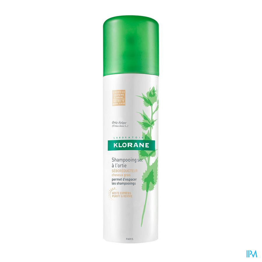 Klorane Droogsh Brandnetel Getint Spray 150ml