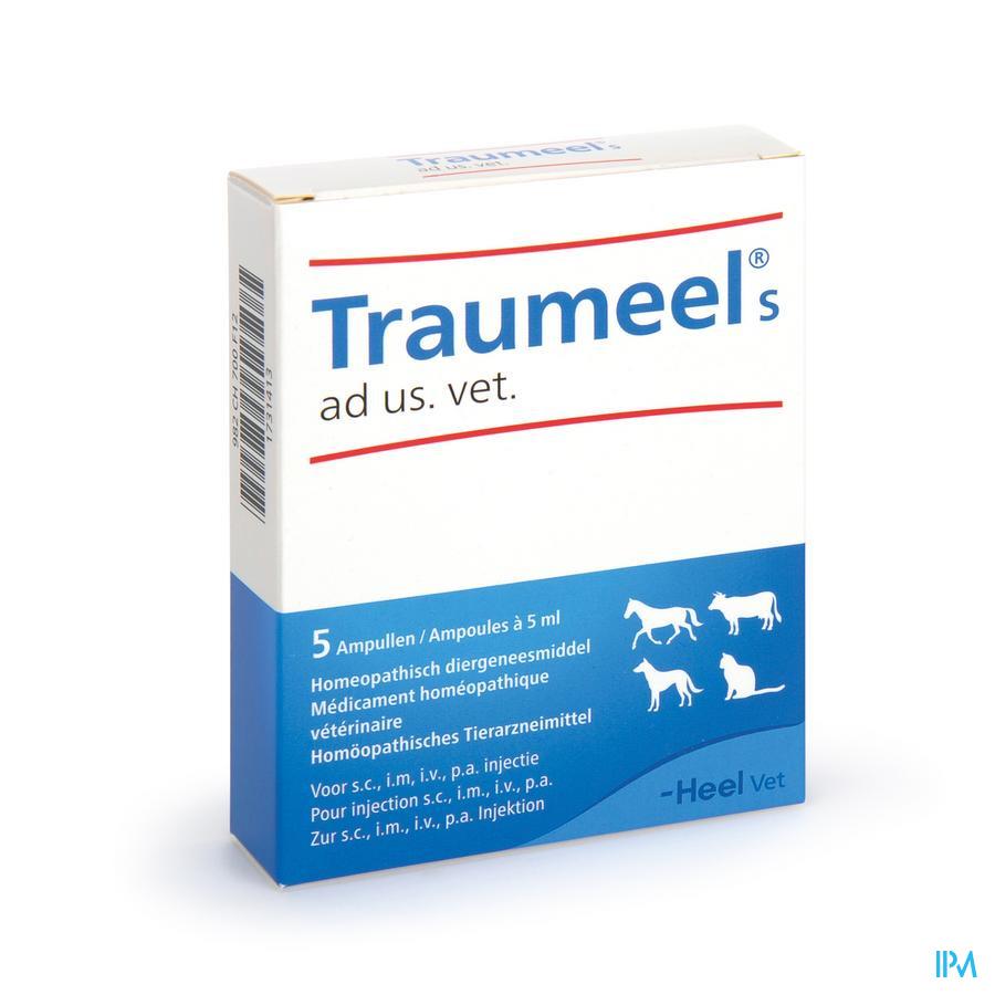 Traumeel S Ad Us.vet Amp 5x5,0ml