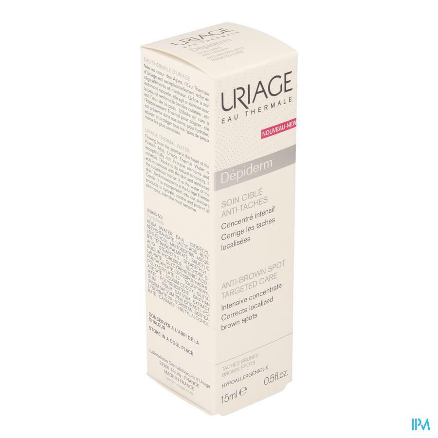 Uriage Depiderm Cx Gerichte Verz. A/vlekken 10ml