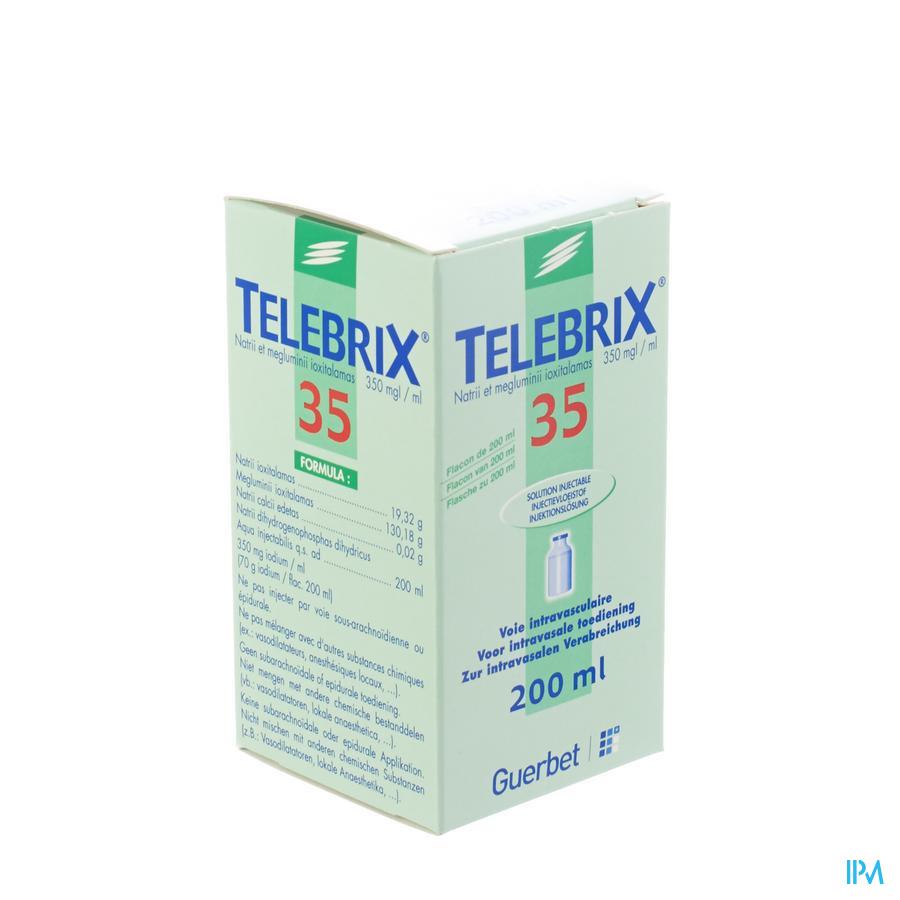 Telebrix 35 Fl Inj 1 X 200ml