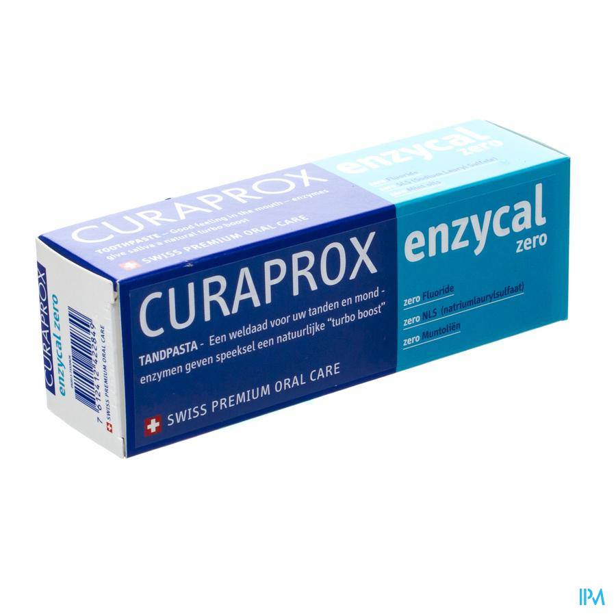 Curaprox Enzycal Zero Tandpasta Tube 75ml