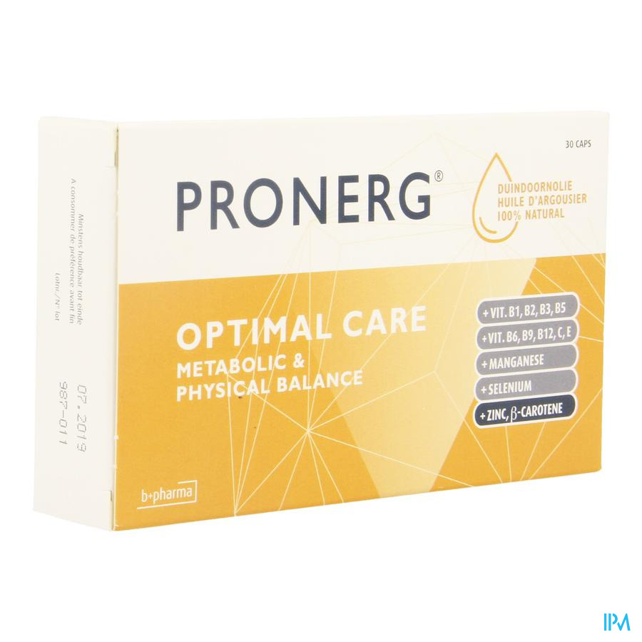 Pronerg Optimal Care Caps 30