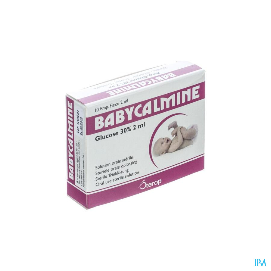 Babycalmine Drinkbare Opl 30% Amp 10x2ml