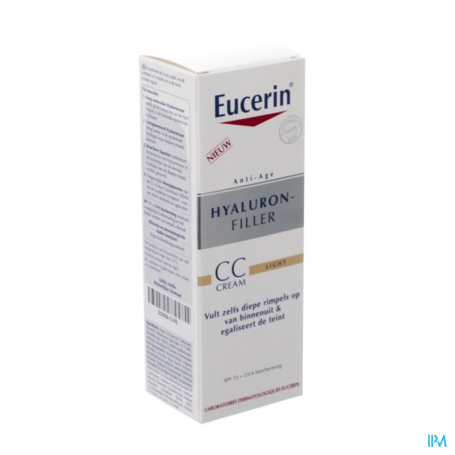 Eucerin Hyaluron Filler Cc Creme Light 50ml