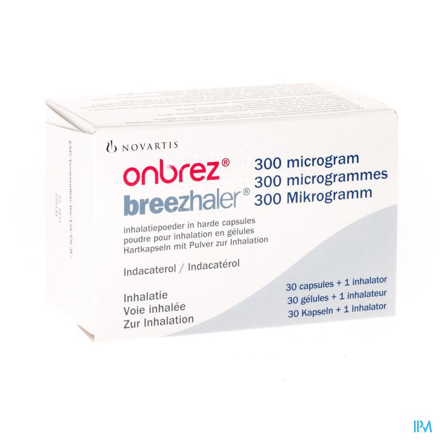 Onbrez Breezhaler 300 Mcg Inhal Poeder Caps 30