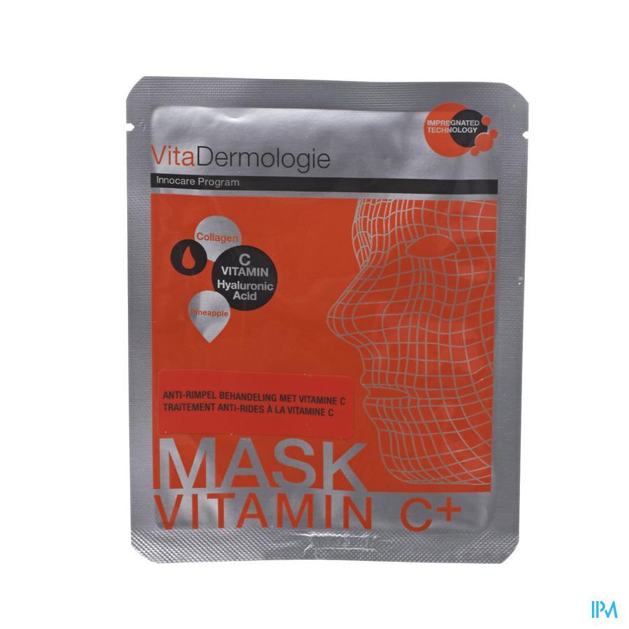 Vitadermologie A/rimpel Vit. C Behand. Masker 1