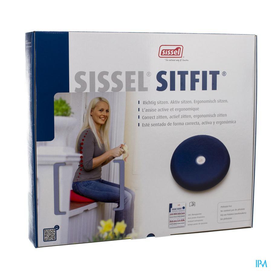 Sissel Sitfit Balanskussen Diam.36cm Blauw