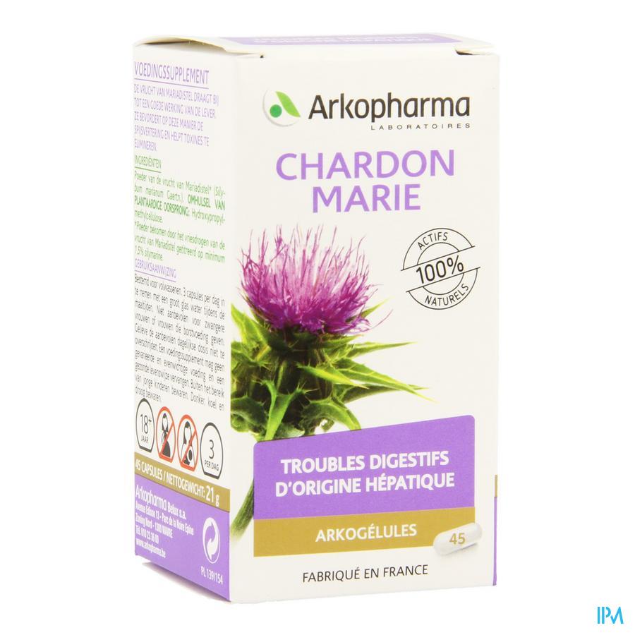 Arkogelules Chardon Marie Vegetal 45