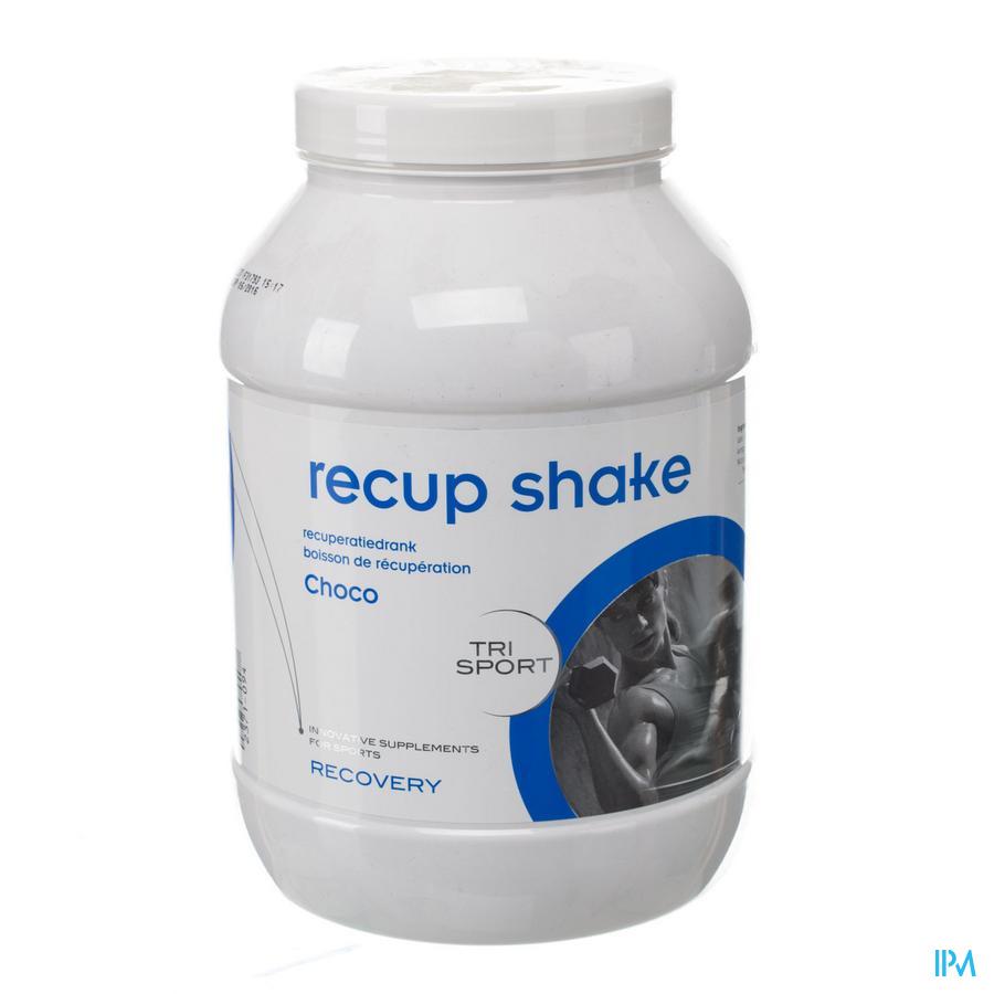 Trisportpharma Recup-shake Choco Poeder 1,5kg  -  Trisport Pharma