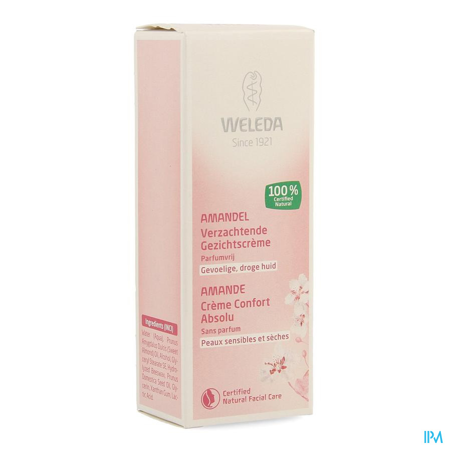Weleda Amande Creme Confort Absolu Tube 30ml