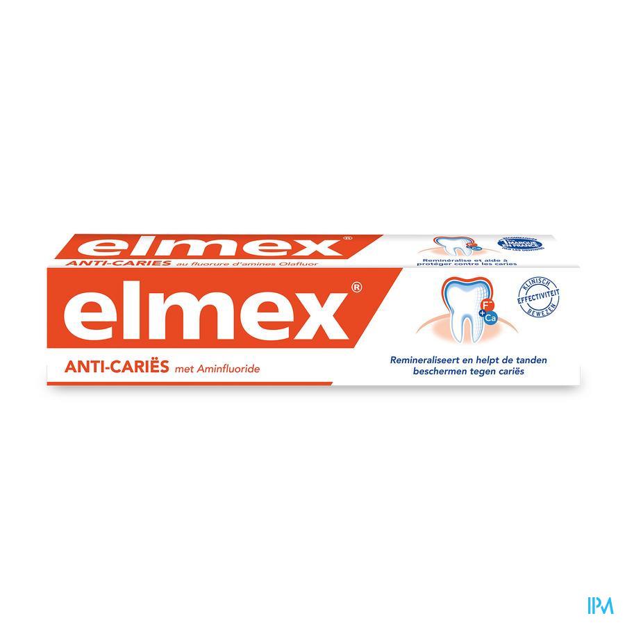 Elmex Tandpasta Anti Caries Volwassen Tube 75ml