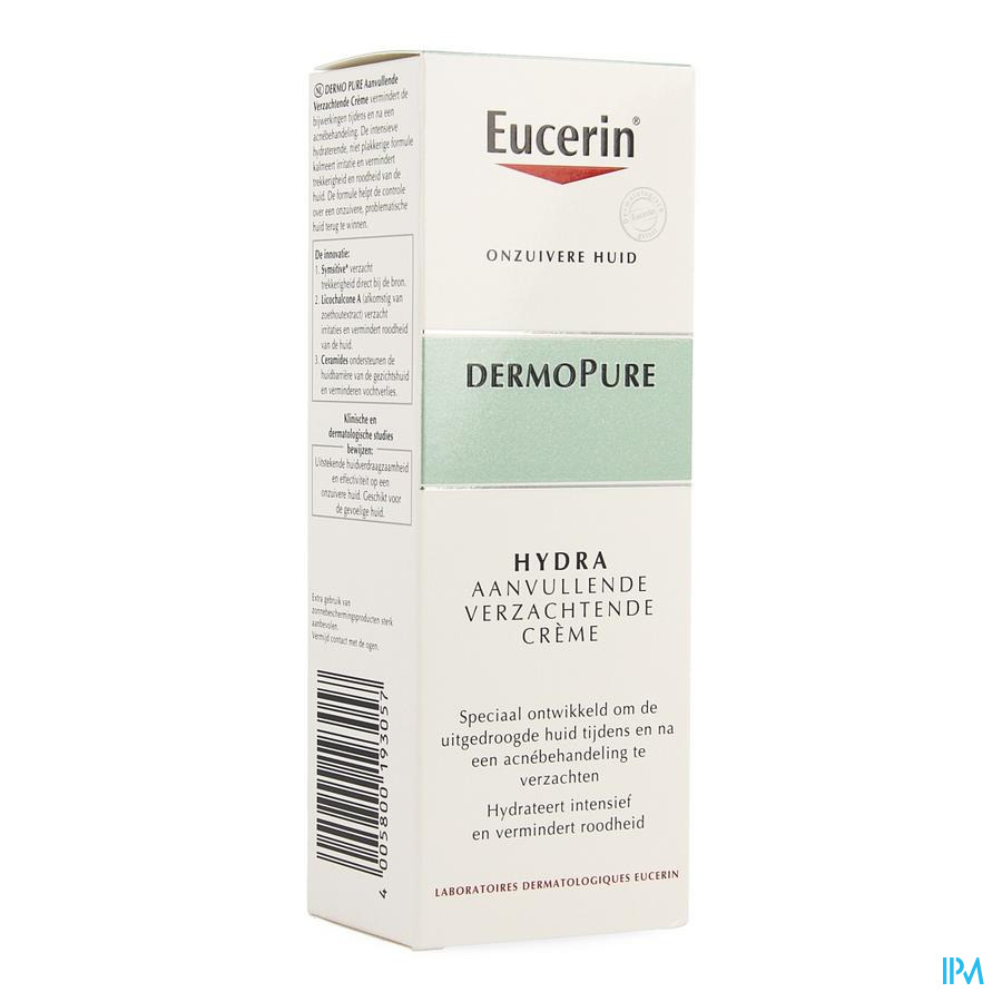 Eucerin Dermopure Adjunctive Soothing Cream 50 ml
