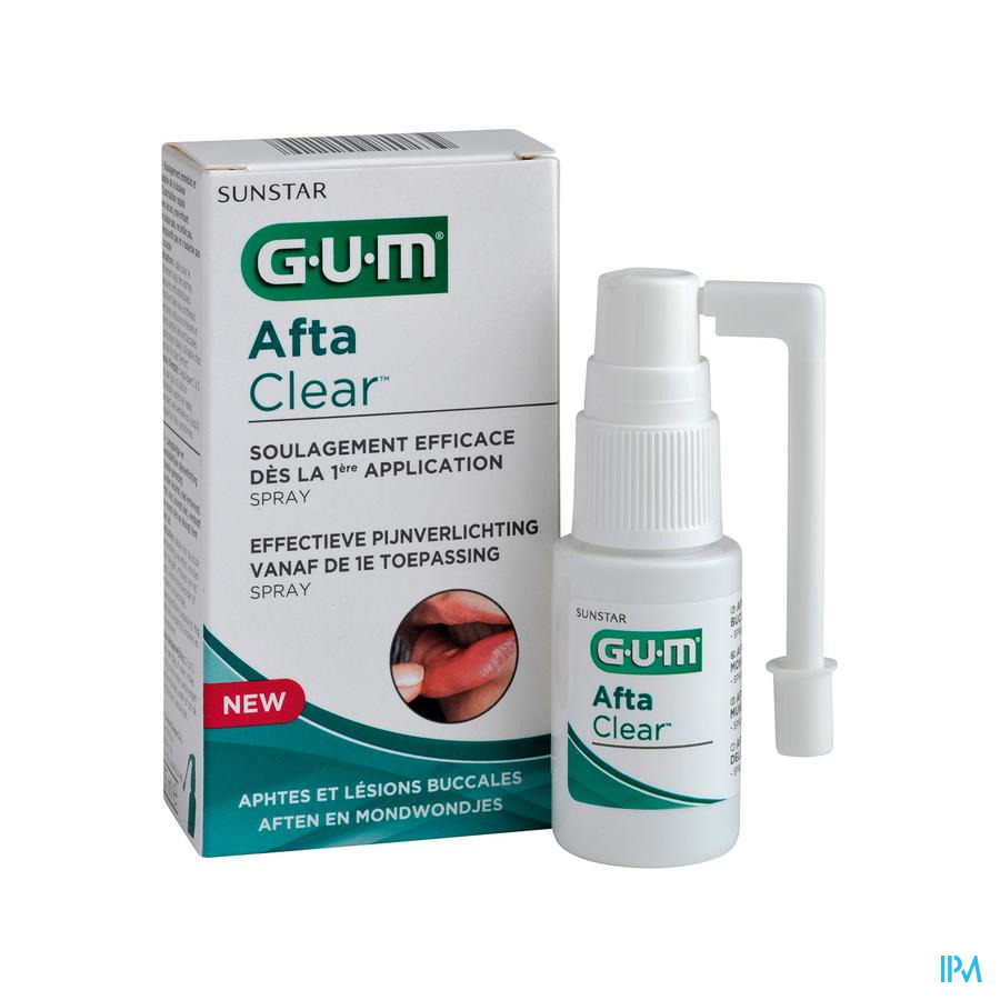 Gum Aftaclear Spray Buccal 15ml
