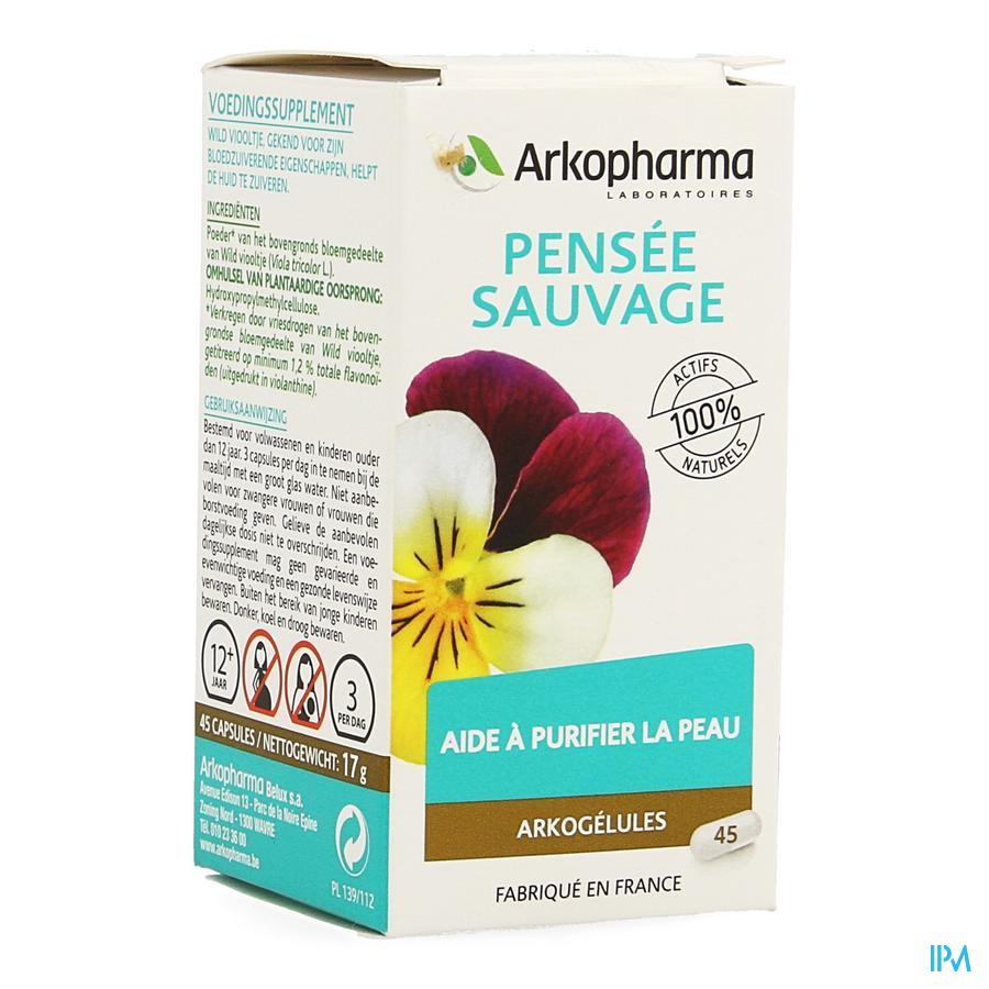 Arkogelules Pensee Sauvage Vegetal 45