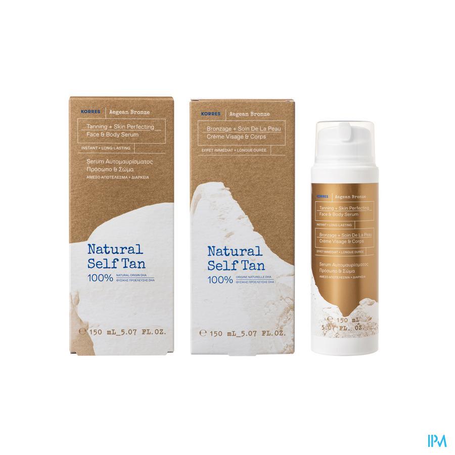 Korres Ks Tanning Serum Medium Shade 150ml