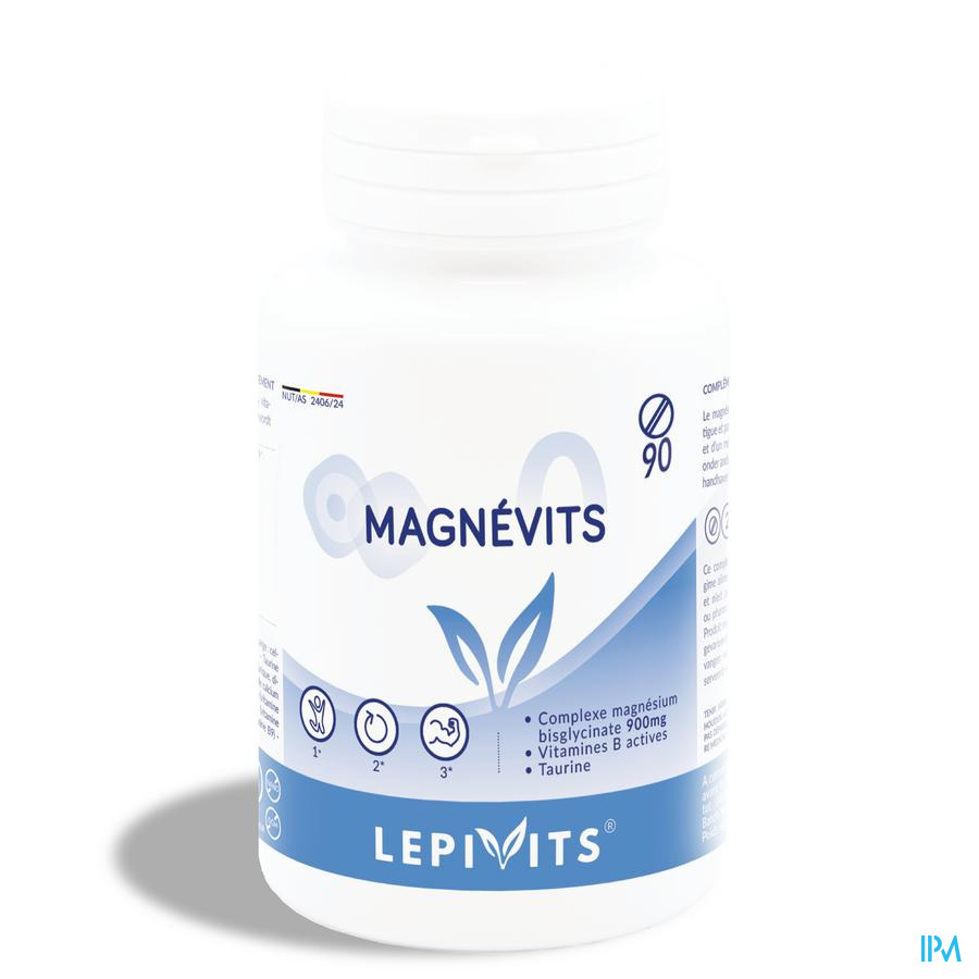 Lepivits Magnevits Plus Comp 90