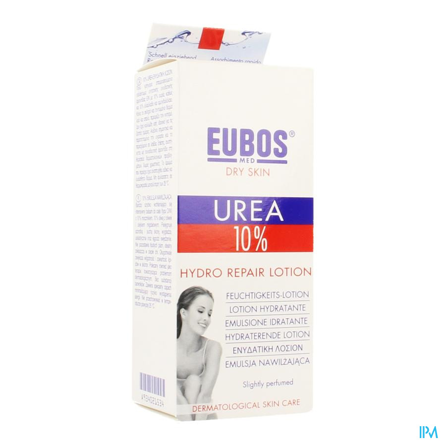 Eubos Urea 10% Hydro Repair Dh Tube 150ml