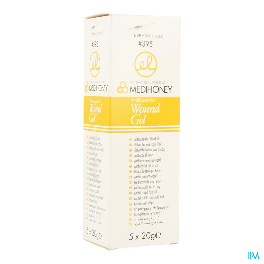 Medihoney Wondgel A/bacteriel Tube 5x20g