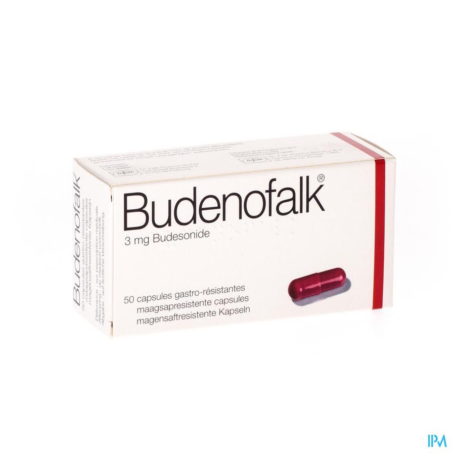 Budenofalk Caps 50 X 3mg