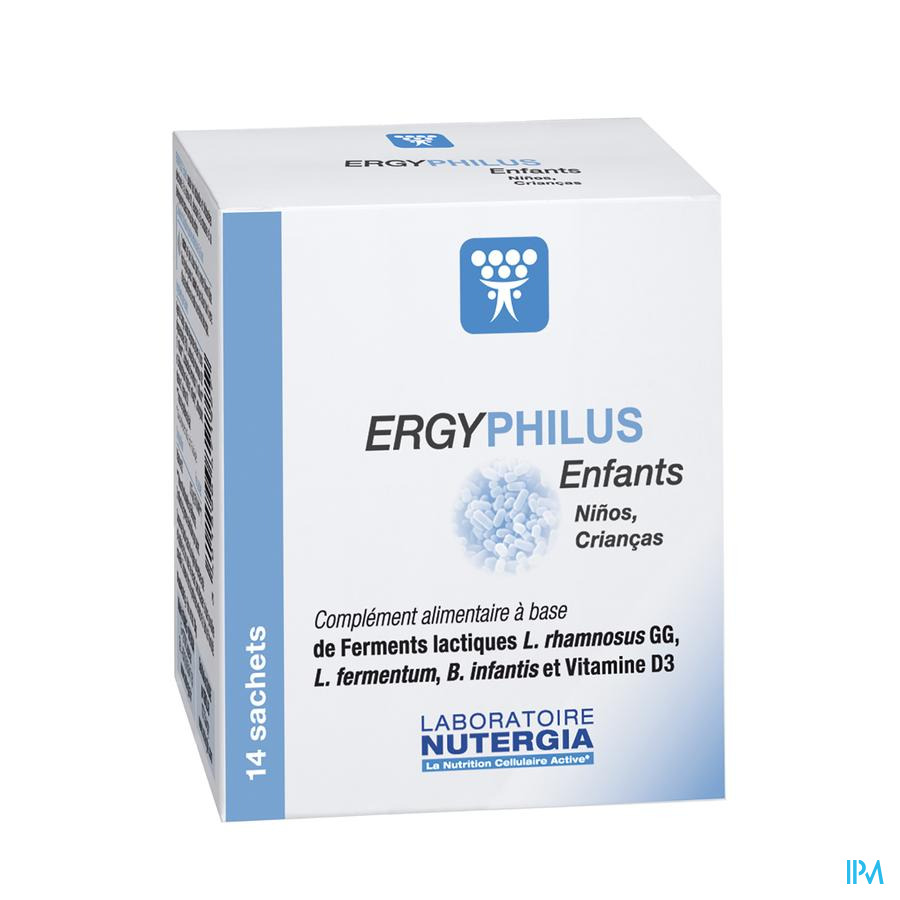 Ergyphilus Kind Poeder Zakje 14x2g