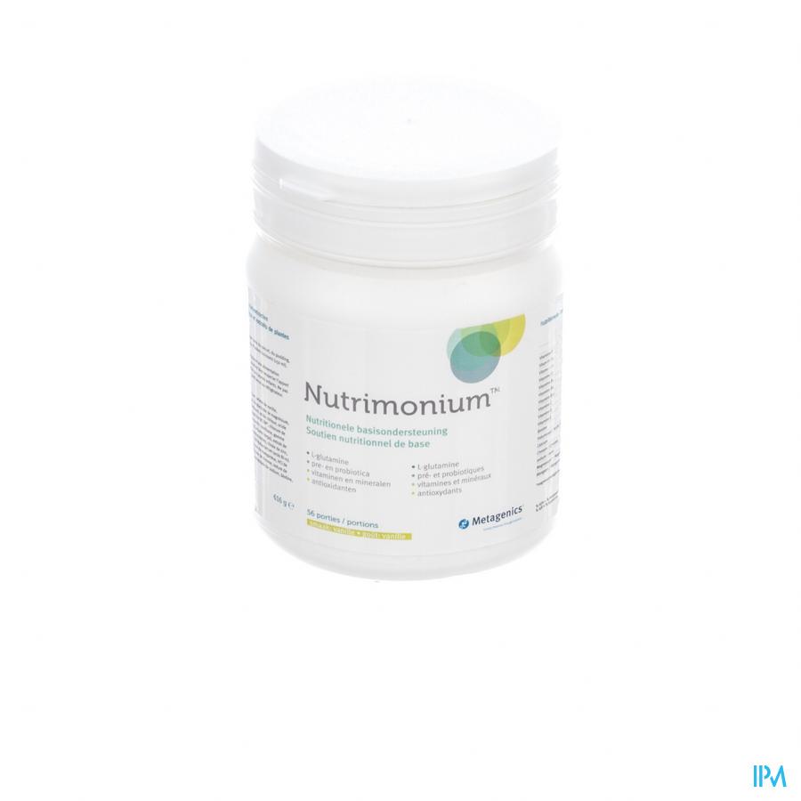 Nutrimonium Vanille Nf Pdr 626g 15817 Metagenics