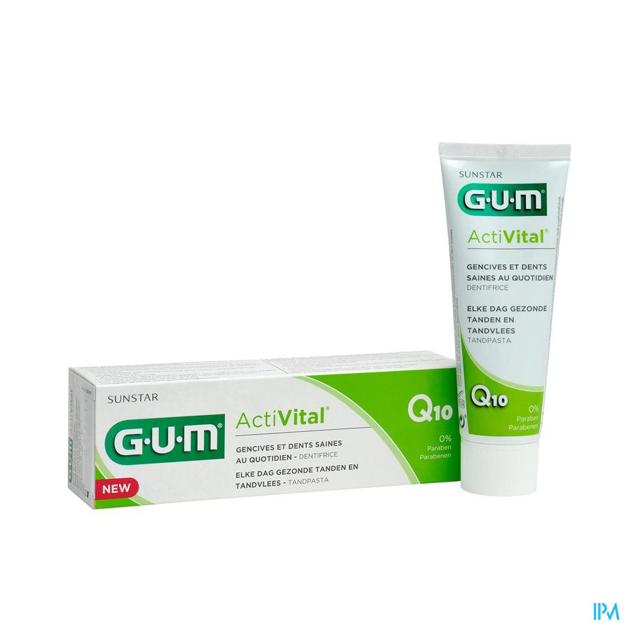 Gum Dentifrice Activital 75ml