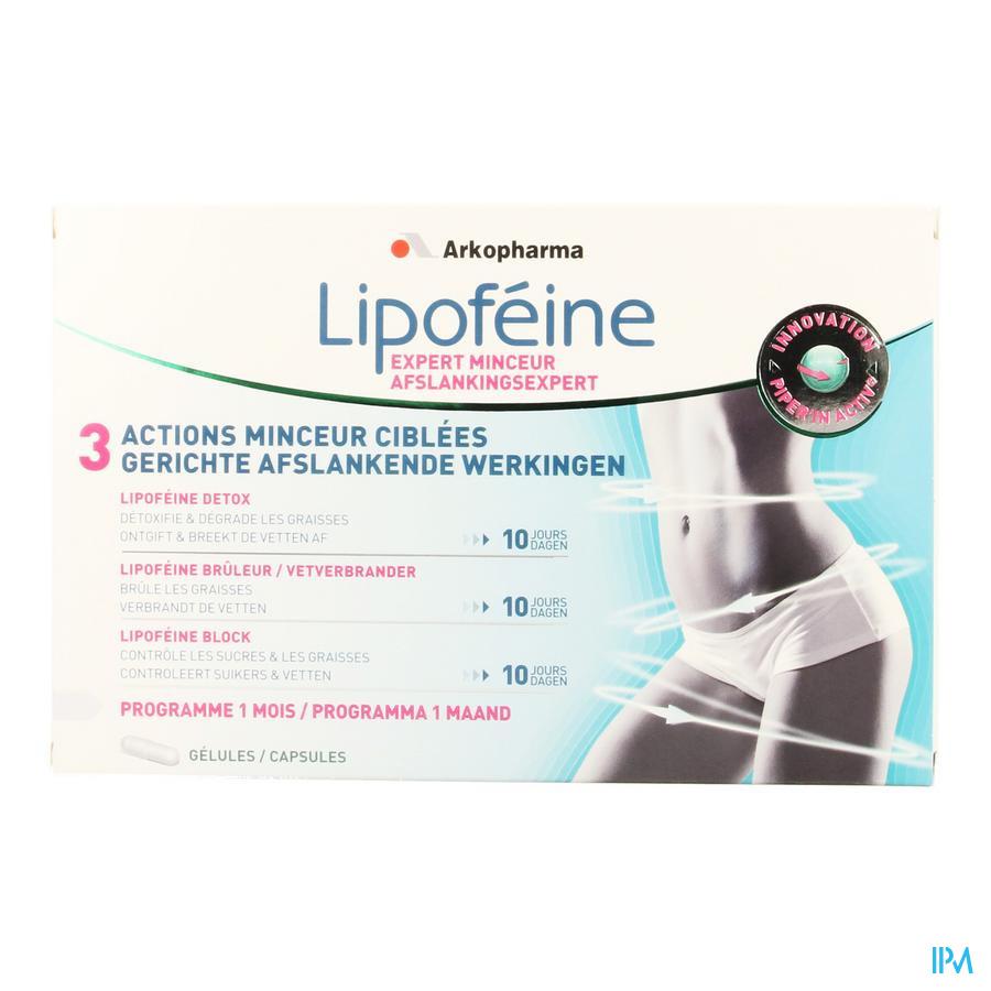 Lipofeine Expert Afslankingsprogramma Caps 80
