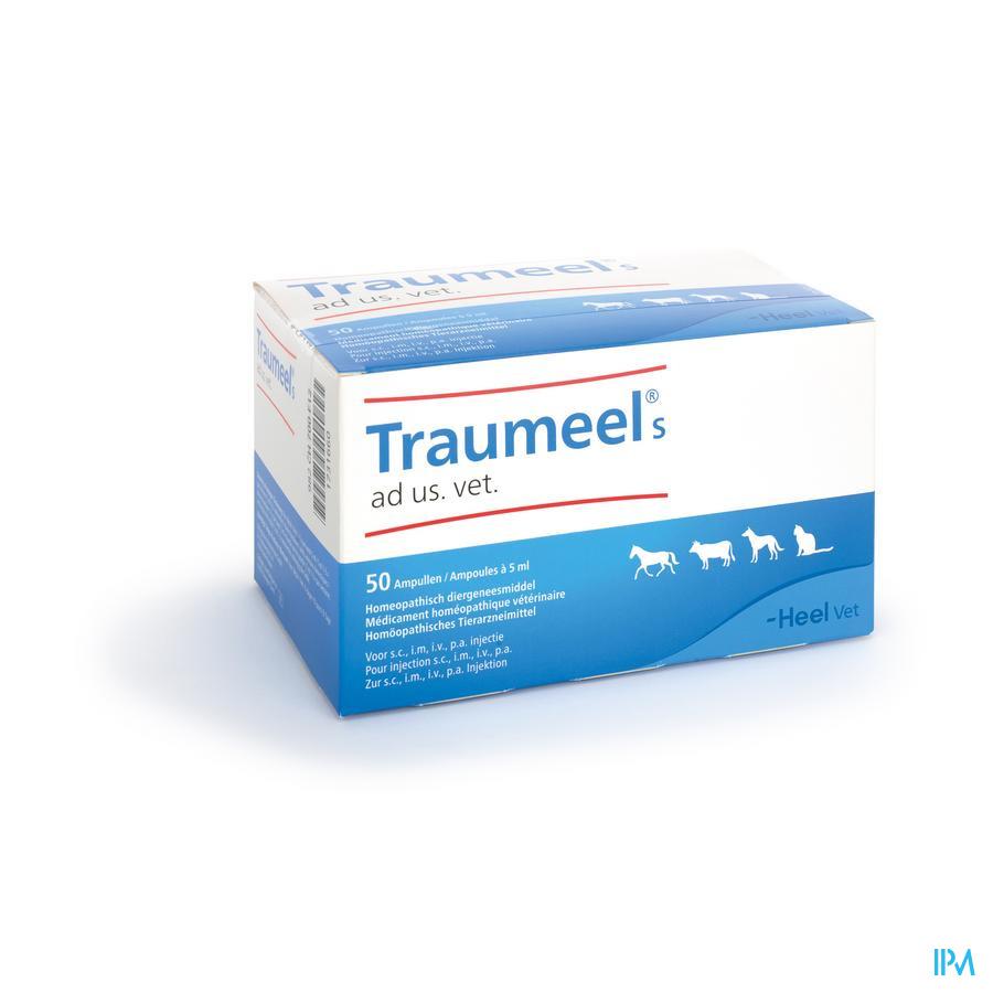 Traumeel S Ad Us.vet Amp 50x5,0ml