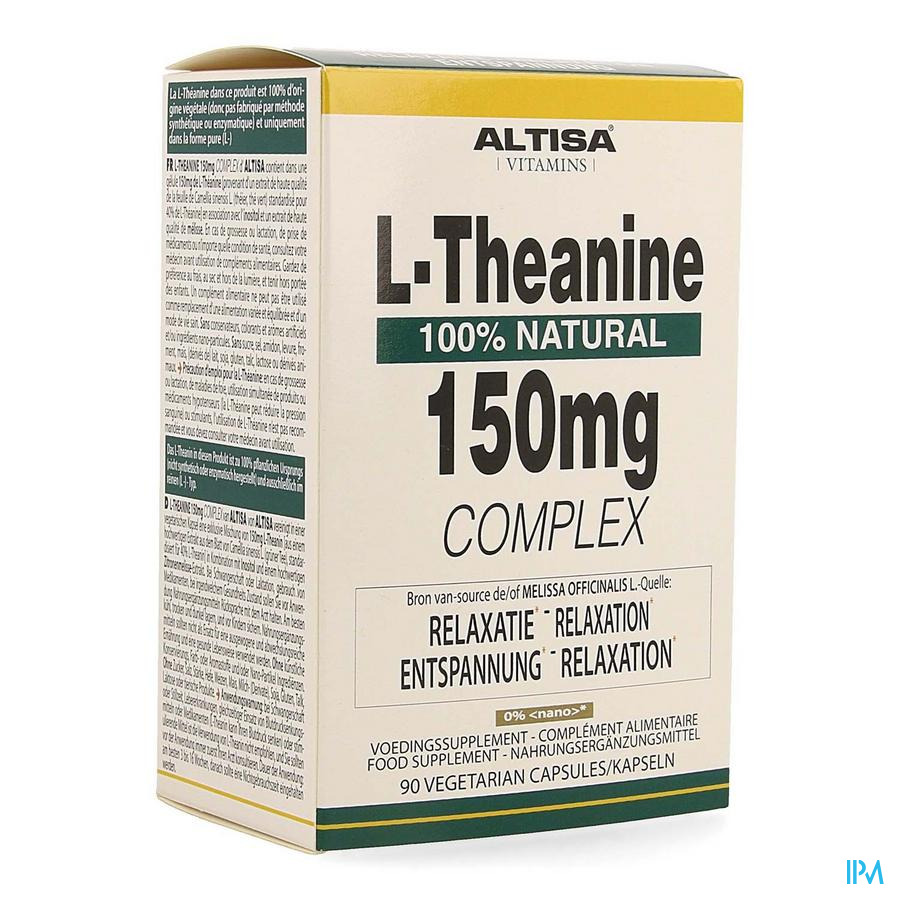 Altisa l-theanine 150mg Complex Comp 90