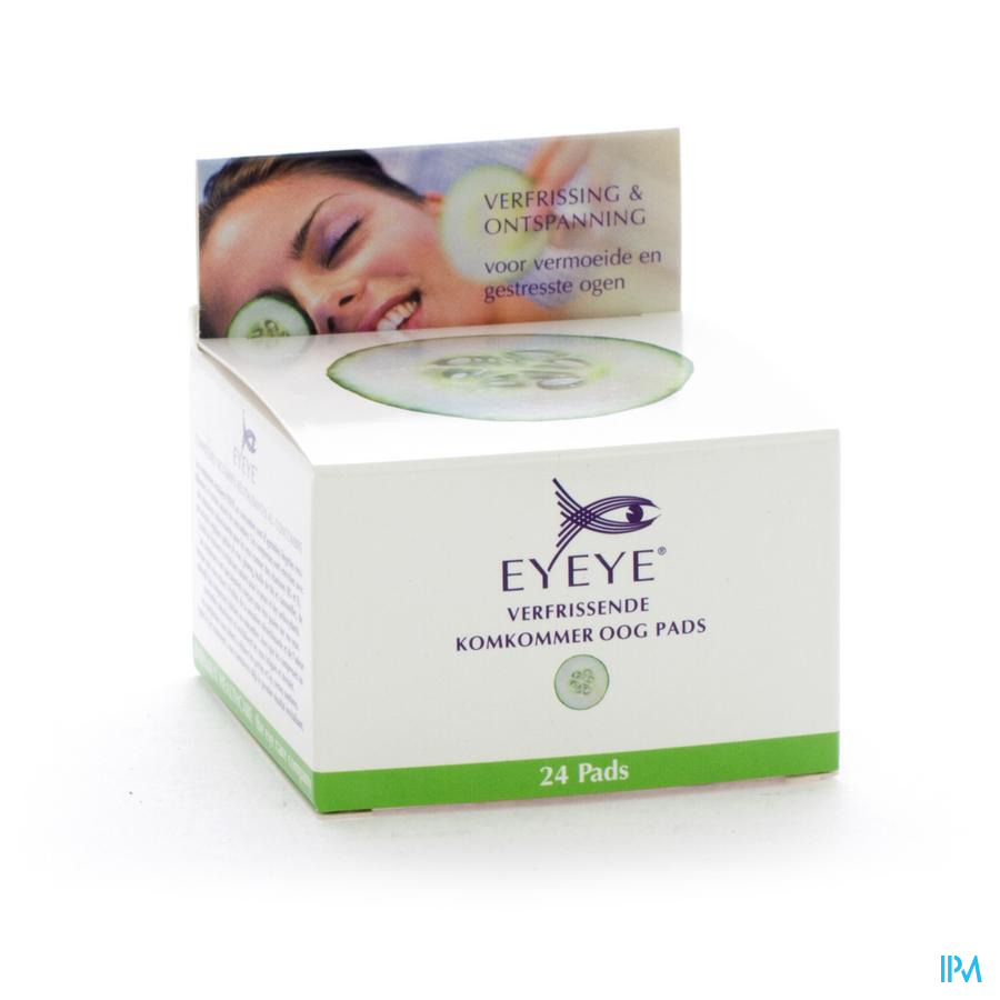 Eyeye Revitalising Cucumber Eye Pads 24