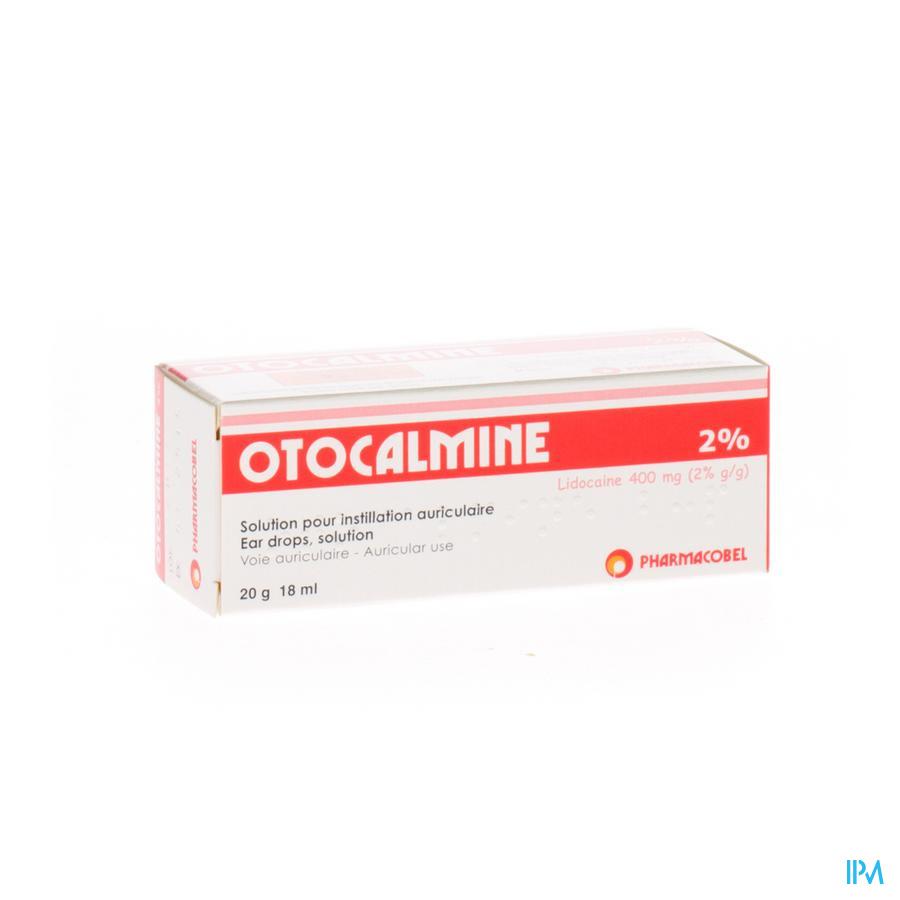 Otocalmine 2 % 18ml
