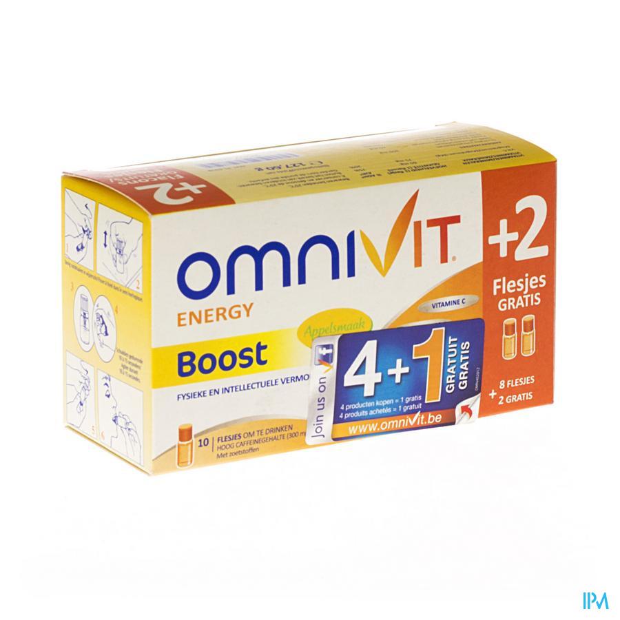 OMNIVIT VITALITY TONIC FL UD 10X10ML (8+2 GRATIS)