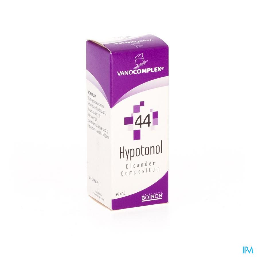 Vanocomplex N44 Hypotonol Druppels 50 ml Unda