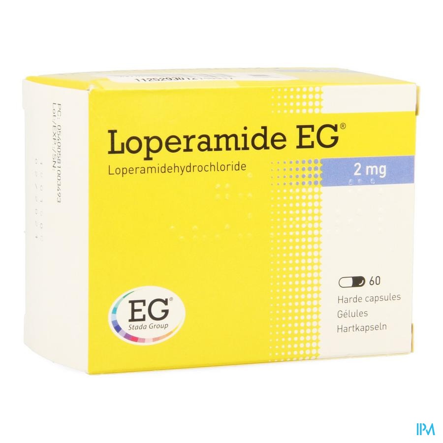 Loperamide Eg Caps 60x2mg