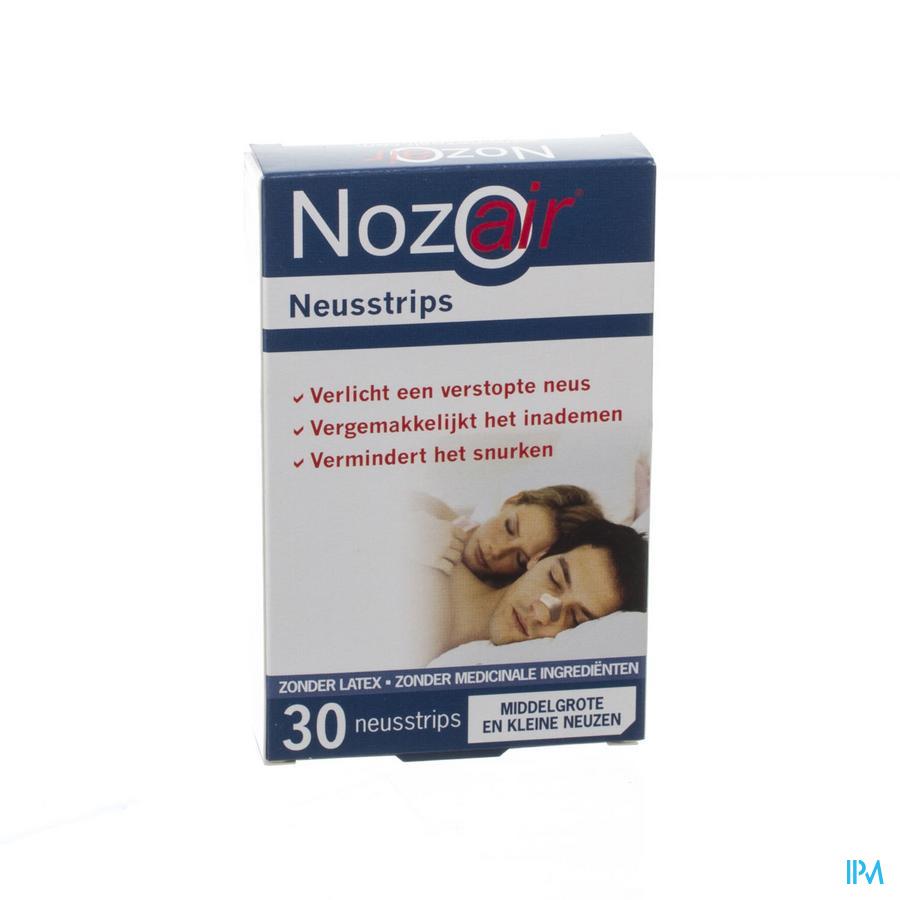 Nozoair Neusstrip Kleine-middelgrote Neus 30