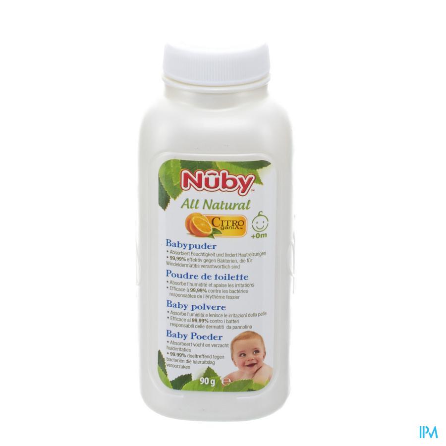 Nuby Citroganix Poudre Toilette 90g