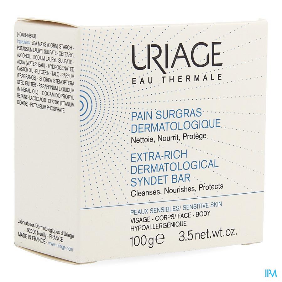 Uriage Thermale Wasstuk Overvet 100g