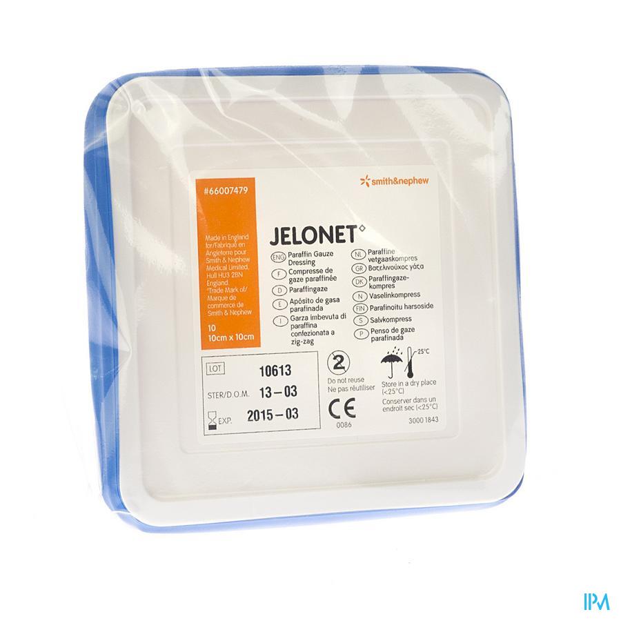 Jelonet Tin 10cmx10cm 10 66007479