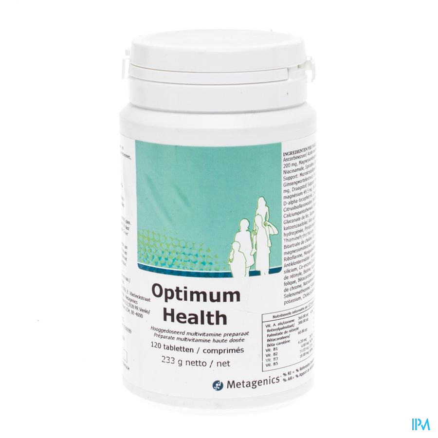 Optimum Health Tabl 120 6994 Metagenics