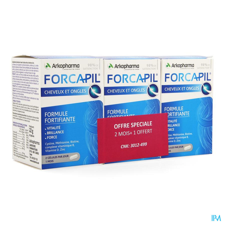Forcapil Caps 3x60 Promo